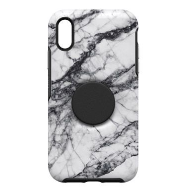 iPhone XR ケース Otter + Pop SYMMETRY WHITE MARBLE iPhone XR_0