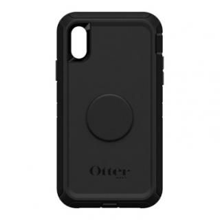 iPhone XR ケース Otter + Pop DEFENDER BLACK iPhone XR
