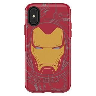 iPhone XS/X ケース OtterBox SYMMETRY IRON MAN for iPhone XS/X I Am Iron Man