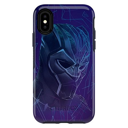 iPhone XS/X ケース OtterBox SYMMETRY Black Panthar for iPhone XS/X Wakanda Forever_0