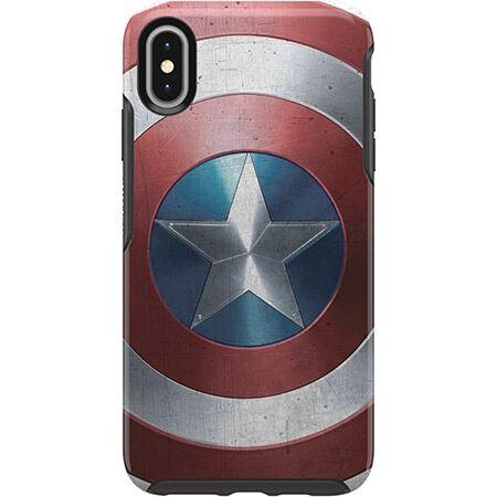 iPhone XS Max ケース OtterBox SYMMETRY Captain America for iPhone XS Max Captain America Shield_0