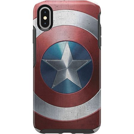 iPhone XS Max ケース OtterBox SYMMETRY Captain America for iPhone XS Max Captain America Shield_0