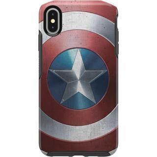 iPhone XS Max ケース OtterBox SYMMETRY Captain America for iPhone XS Max Captain America Shield【7月下旬】