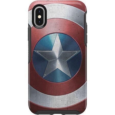 iPhone XS/X ケース OtterBox SYMMETRY Captain America for iPhone XS/X Captain America Shield_0