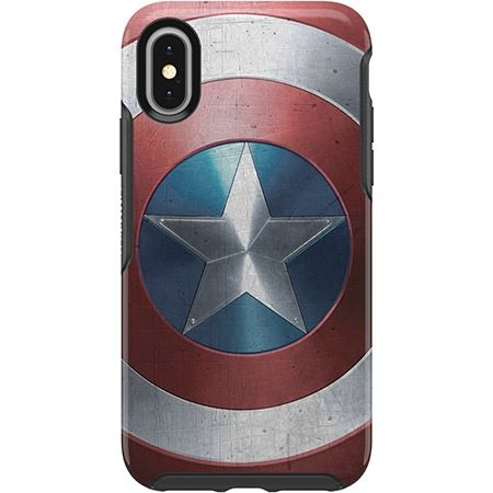 iPhone XS/X ケース OtterBox SYMMETRY Captain America for iPhone XS/X Captain America Shield_0