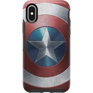 iPhone XS/X ケース OtterBox SYMMETRY Captain America for iPhone XS/X Captain America Shield【8月下旬】