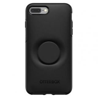 Otter + Pop SYMMETRY BLACK iPhone 8 Plus/7 Plus【7月中旬】