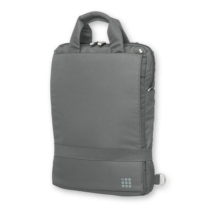 モレスキン デバイスバッグ バーチカル 15.4インチ グレー