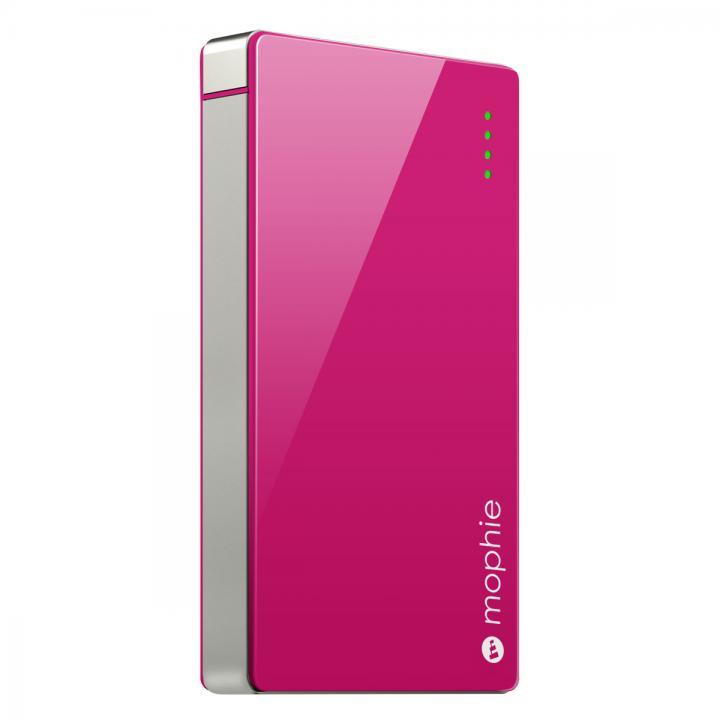 [4000mAh]艶のある鮮やかなカラー モバイルバッテリー PowerStation 4000 ピンク_0