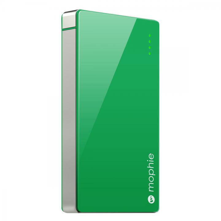 [4000mAh]艶のある鮮やかなカラー モバイルバッテリー PowerStation 4000 グリーン_0