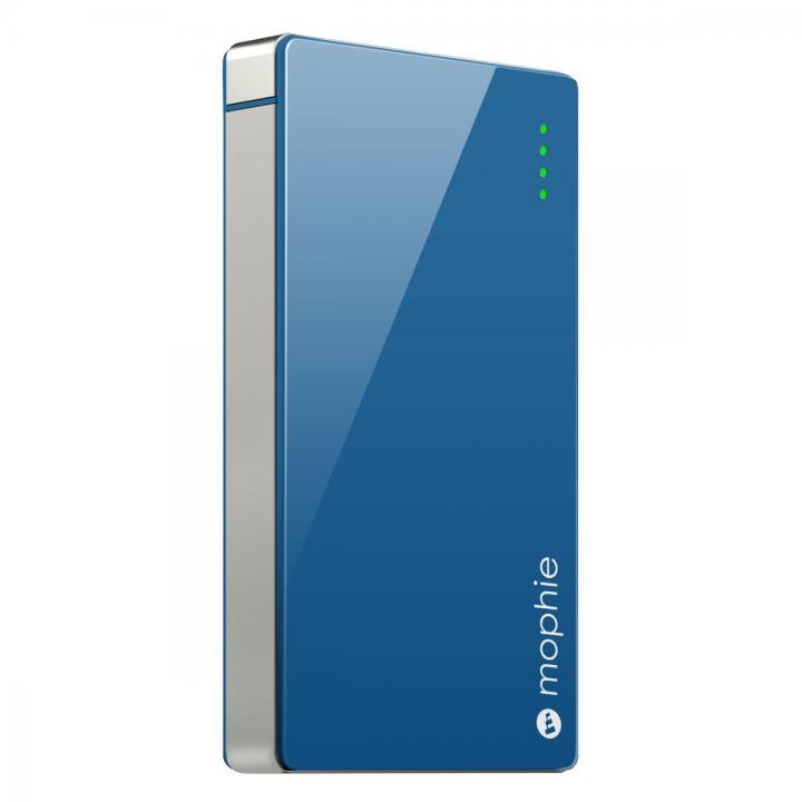 [4000mAh]艶のある鮮やかなカラー モバイルバッテリー PowerStation 4000 ブルー_0