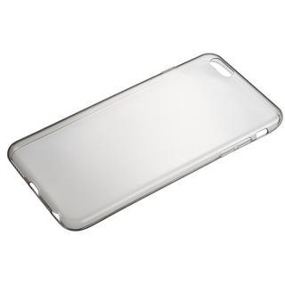 Helium 最薄部0.6mmTPUケース マットスモーク iPhone 6 Plus
