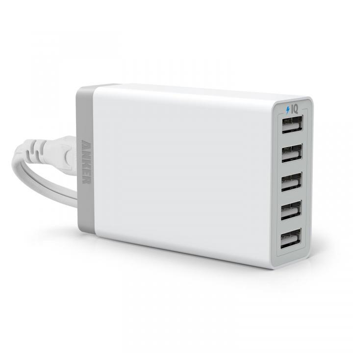 Anker PowerPort 5 40W急速USB充電器 PowerIQ搭載 A2124N22 ホワイト_0