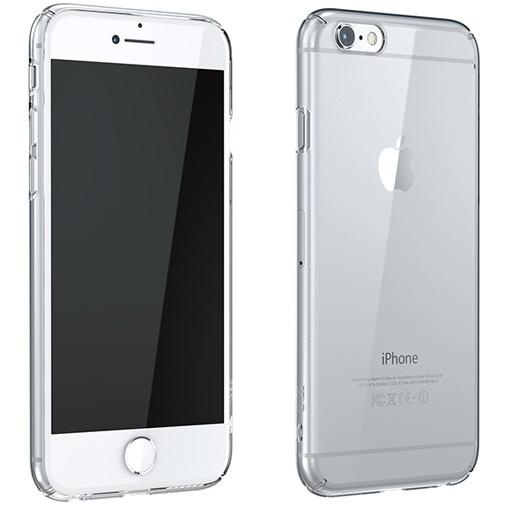 ウルトラスリムタフ 0.5mm クリアハードケース クリア iPhone 6 Plus