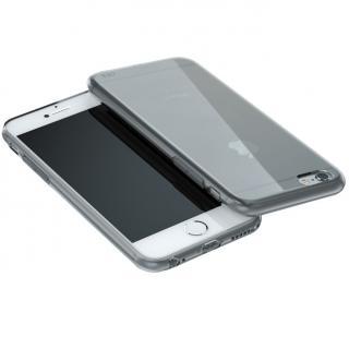 ウルトラスリム TPUクリアケース グレー iPhone 6 Plus