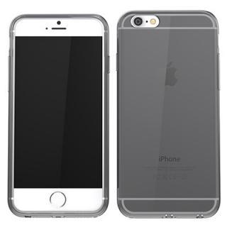 【iPhone6ケース】ウルトラスリム TPUクリアケース グレー iPhone 6_4