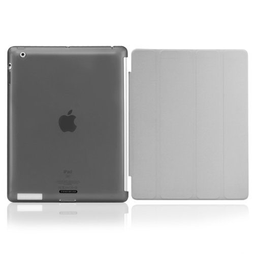 SOFTSHELL  iPad (第4/3世代)/iPad 2 fits iPad Smart Cover スモーク_0