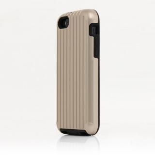 TRAVEL ハイブリッドケース ゴールド iPhone SE/5s/5/5cケース