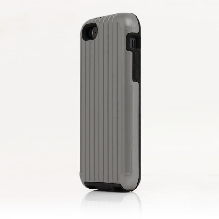 iPhone SE/5s/5 ケース TRAVEL ハイブリッドケース シルバー iPhone SE/5s/5/5cケース_0