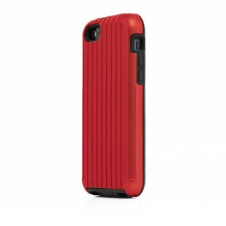 TRAVEL ハイブリッドケース レッド iPhone SE/5s/5/5cケース