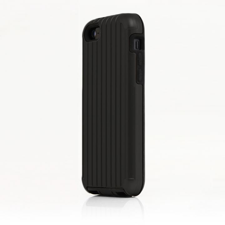 【iPhone SE/5s/5ケース】TRAVEL ハイブリッドケース ブラック iPhone SE/5s/5/5cケース_0