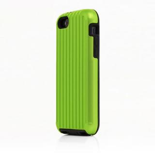 iPhone SE/その他の/iPod ケース TRAVEL ハイブリッドケース グリーン iPhone SE/5s/5/5cケース