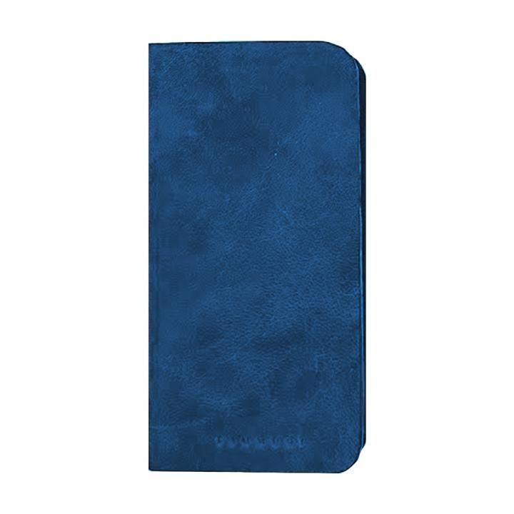 【iPhone8/7/6s/6ケース】TSUMUGI 藍染プレミアムレザー 手帳型ケース 浅葱 iPhone 8/7/6s/6_0