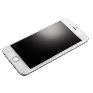 【iPhone8】GRAMAS フルカバー強化ガラス ホワイト iPhone 8/7