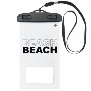 iPhone SE 第2世代 ケース cdm 防水ポーチ BEACH ホワイト
