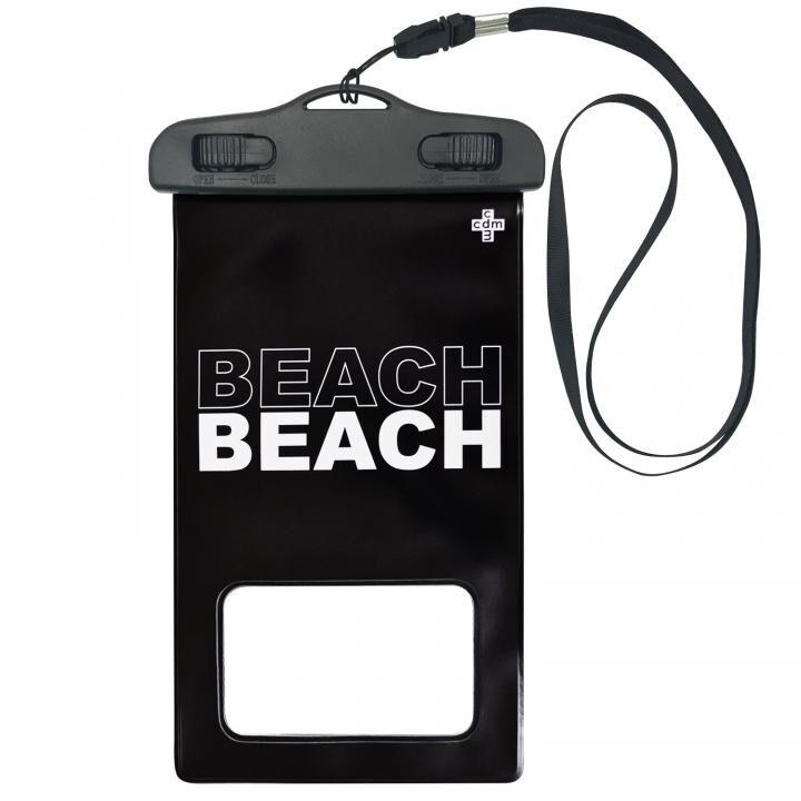 iPhone 11/11 Pro ケース cdm 防水ポーチ BEACH ブラック_0