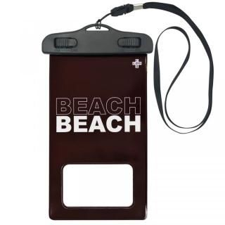 iPhone SE 第2世代 ケース cdm 防水ポーチ BEACH バーガンディ