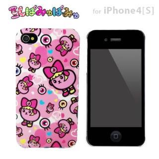 その他のiPhone/iPod ケース 豆しぱみゅぱみゅ iPhone4/4s兼用プラスチックケースカバー (ハート柄)