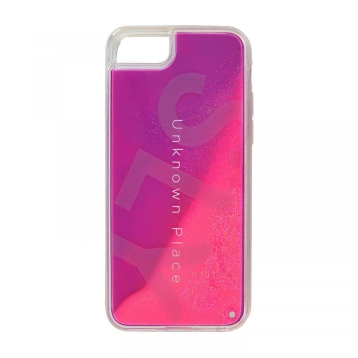 iPhone8/7/6s/6 ケース SLY ラメ入りネオンサンドケース ピンク×紫 iPhone SE 第2世代/8/7/6s/6_0
