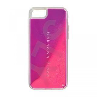 iPhone SE 第2世代 ケース SLY ラメ入りネオンサンドケース ピンク×紫 iPhone SE 第2世代/8/7/6s/6【7月中旬】