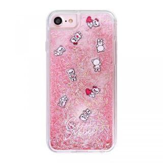iPhone SE 第2世代 ケース CECILMcBEE ダイカットプレート入りグリッターケース PINK iPhone SE 第2世代/8/7/6s/6