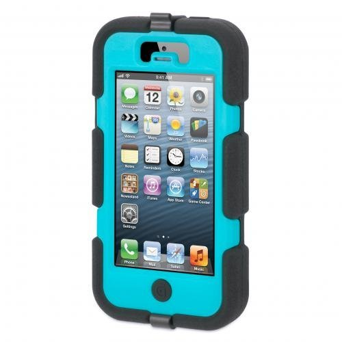 iPhone SE/5s/5 ケース Survivor iPhone5-BLK PBL BLK-Black Pool Blue Black_0
