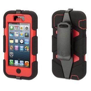 【iPhone SE/5s/5ケース】Survivor iPhone5-BLK RED BLK-Black Red Black_0