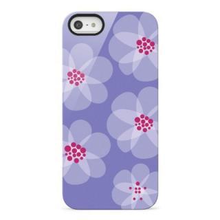 iPhone SE/5s/5 ケース Shield Blooms iPhone5(パープル)