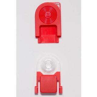 [新iPhone記念特価]スマートフォン専用マクロレンズ HULSCOPE ハルスコープ 赤