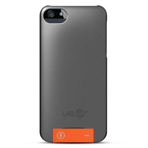 iPhone SE/5s/5 ケース LAB.C USB CASE  iPhone5 [Grey-Orange]_0