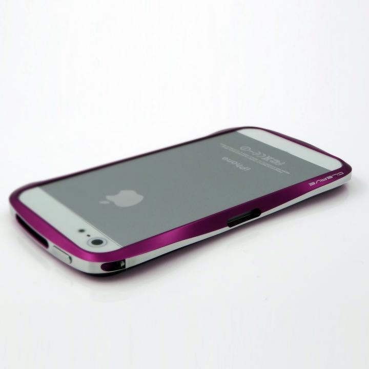 【iPhone SE/5s/5ケース】CLEAVE ALUMINUM BUMPER  iPhone SE/5s/5 ギャラクティックパープル_0
