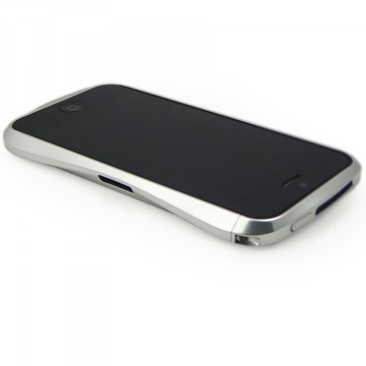 【iPhone SE/5s/5ケース】CLEAVE ALUMINUM BUMPER  iPhone SE/5s/5 ラグジュアリーシルバー_0