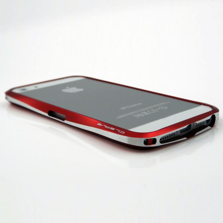 Deff CLEAVE ALUMINUM BUMPER for iPhone 5/5s フレアレッド