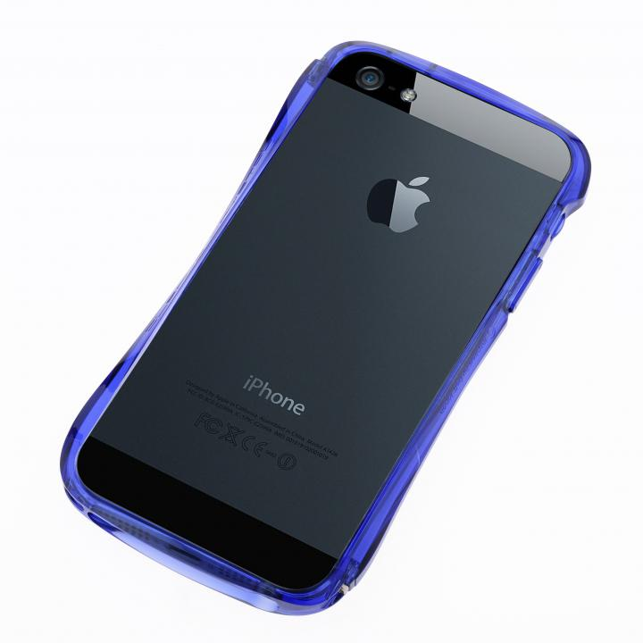 iPhone SE/5s/5 ケース CLEAVE Bumper  iPhone SE/5s/5 Crystal Edition Deep Blue Ocean_0