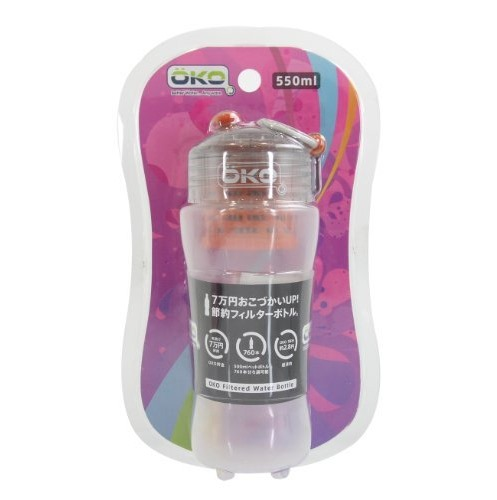 OKO Filtration Water Bottle 550ml Sun_0