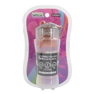 OKO Filtration Water Bottle 550ml Sun