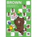 LINE ジグソーパズル  300-787 A Day With BROWN