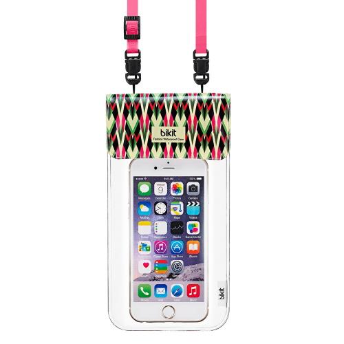 【iPhone6s/6s Plusケース】bikit2 5.7インチ対応 スマートフォン用ファッション防水ポーチ ドラゴンフルーツ_0