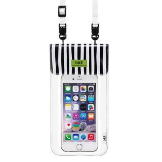 bikit2 5.7インチ対応 スマートフォン用ファッション防水ポーチ ゼブラ