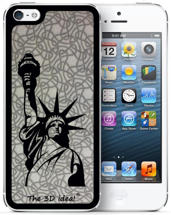 iPhone SE/5s/5 ケース The 3D idea iPhone5 Skin - USA1_0